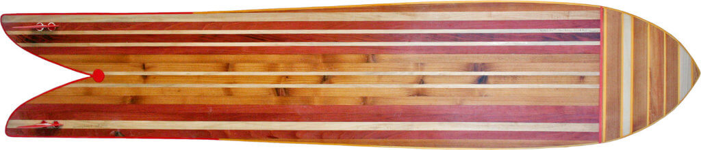 Woodyboard by Nicolas Guindé - custom made wooden Kiteboards from Birtanny