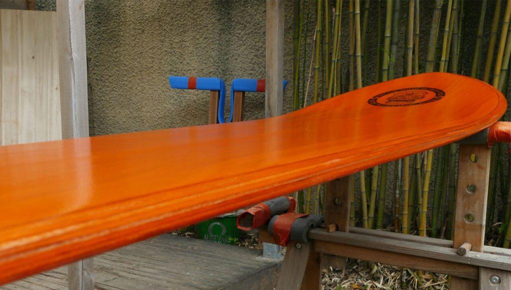 Swept rails of the Kite Alaia