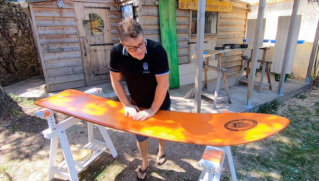 The flex in these boards allows you to kite-surf for longer due to its increased comfort level